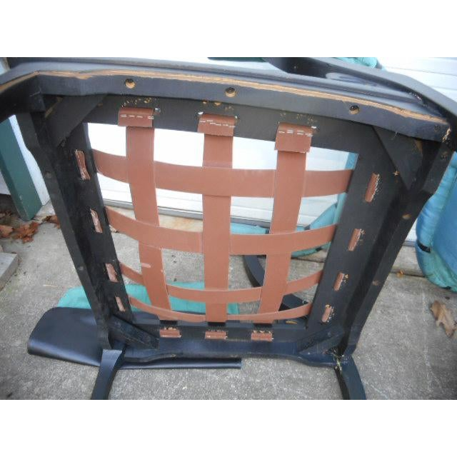 James Mont Style Asian Lounge Chairs - A Pair For Sale - Image 10 of 11