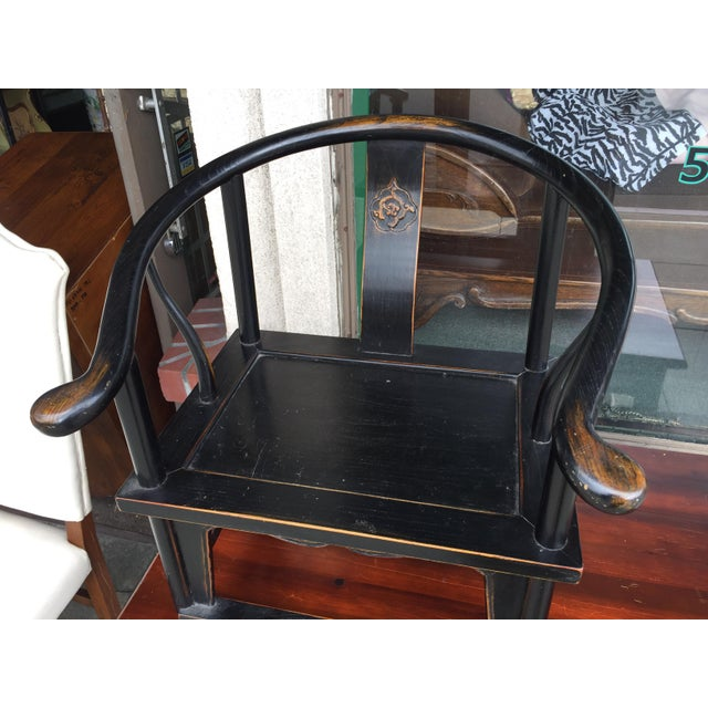 Chinese Horshoe Child's Chair - Image 3 of 6