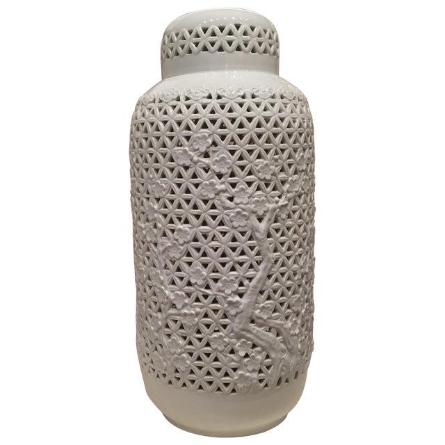 Blanc De Chine Vase - Image 1 of 5