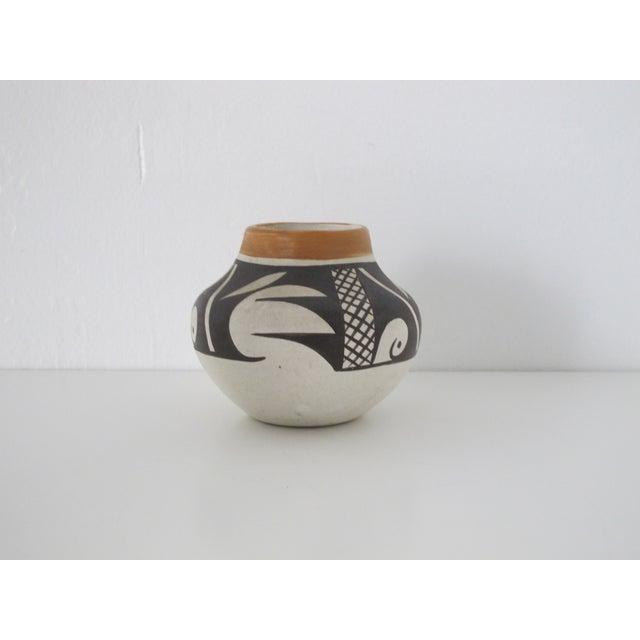 Acoma Native American Bud Vase - Image 3 of 5