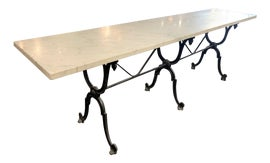 Image of Wrought Iron Console Tables