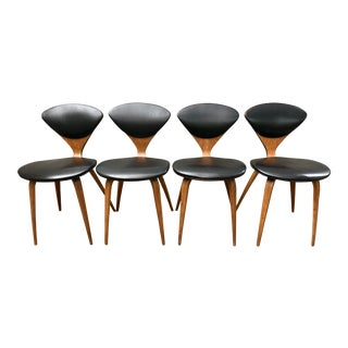 1950s Norman Cherner for Plycraft Dining Chairs- Set of 4 For Sale