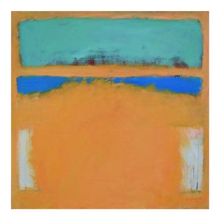 """Stephen Remick Abstract """"Spring Rising"""" Painting"""