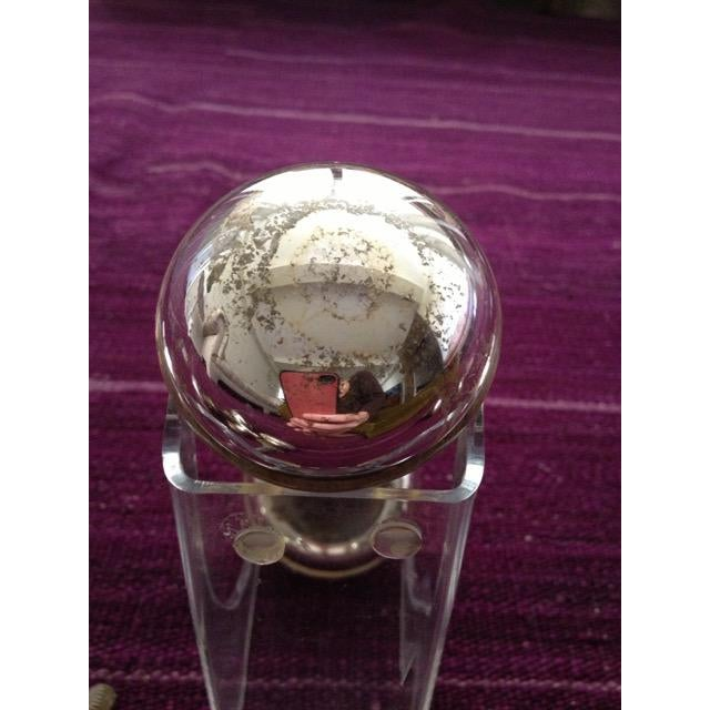 Mercury Glass Door Knobs - 4 Sets For Sale In New York - Image 6 of 11