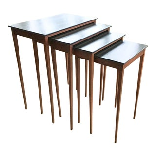 Gillows Nesting Side Tables - Set of 4 - England For Sale