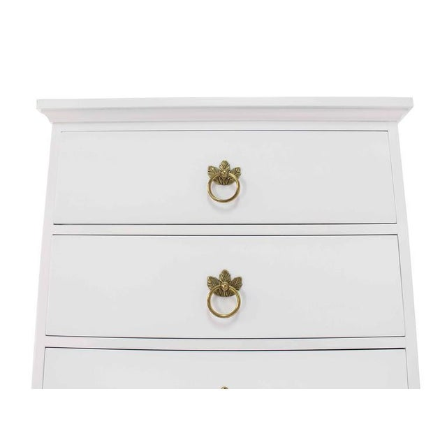 Mid 20th Century Tall Seven Drawer Lingerie Chest by Grosfeld House For Sale - Image 5 of 8