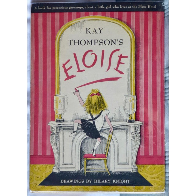 Pink 1955 Kay Thompson's 'Eloise', True First Printing For Sale - Image 8 of 8