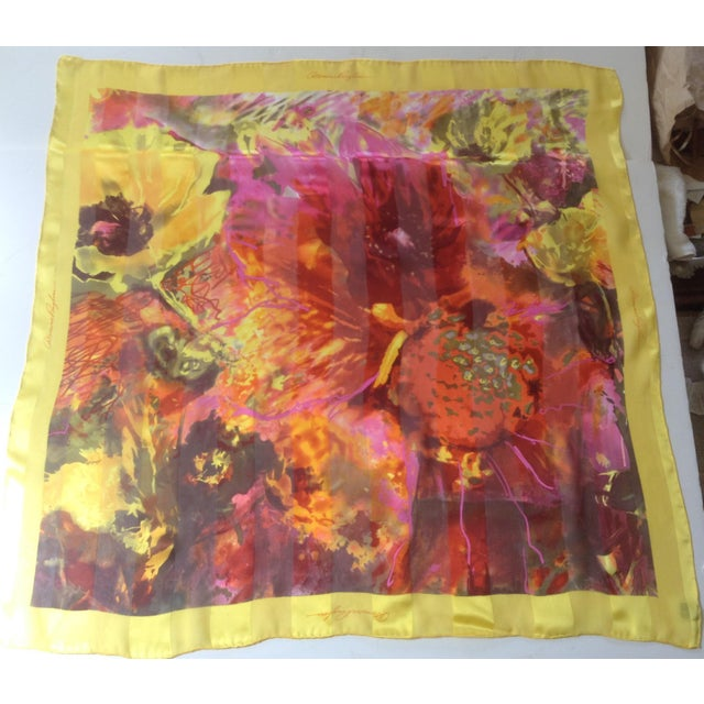 Dominic Pangborn Silk Scarf For Sale - Image 4 of 4