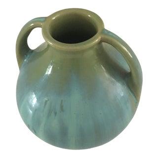 1920s Fuller Jade Glazed Vase For Sale
