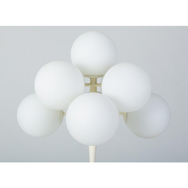 """Metal """"Figuration"""" Table Lamp by e.r. Nele for Temde Leuchten For Sale - Image 7 of 10"""