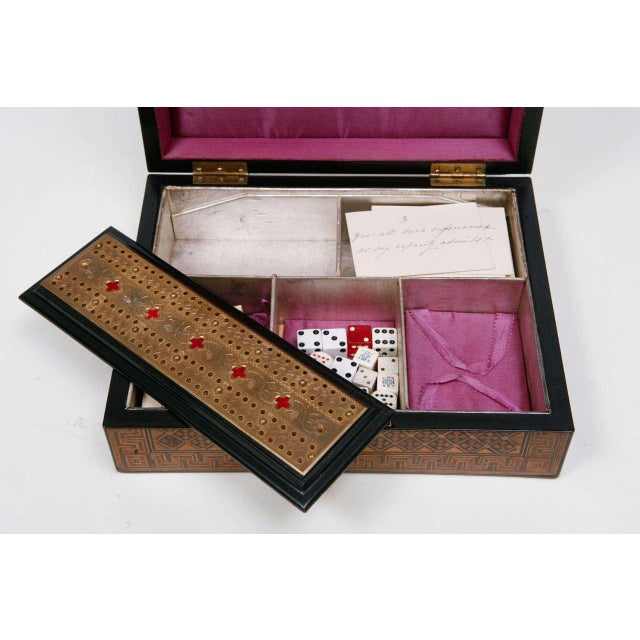 English 19th Century English Game Box For Sale - Image 3 of 11