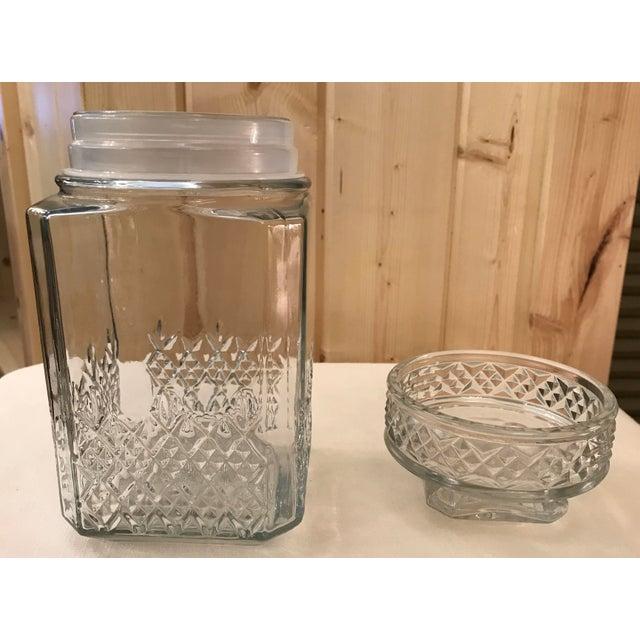 Vintage Square Canister Jar - Image 11 of 11