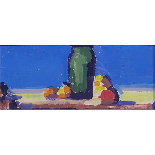 Illustration Conrad Buff - Deep Blue Sky Landscape - Oil Painting For Sale - Image 3 of 8