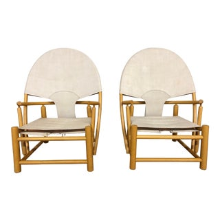 1970s Hoop Chairs by Piero Palange and Werther Toffoloni For Sale
