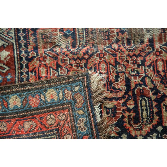 """Vintage Malayer Rug Runner - 3'10"""" x 10'1"""" For Sale In New York - Image 6 of 10"""