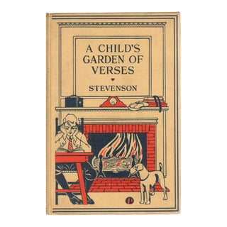 """1926 """"A Child's Garden of Verses and Other Poems"""" Collectible Book For Sale"""