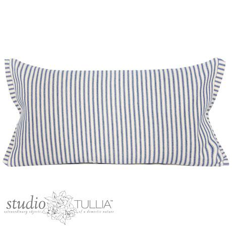 Abstract Blue Bunny Lumbar Pillow For Sale - Image 3 of 8