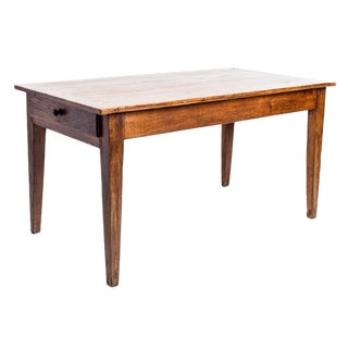 FRUITWOOD DINING TABLE For Sale
