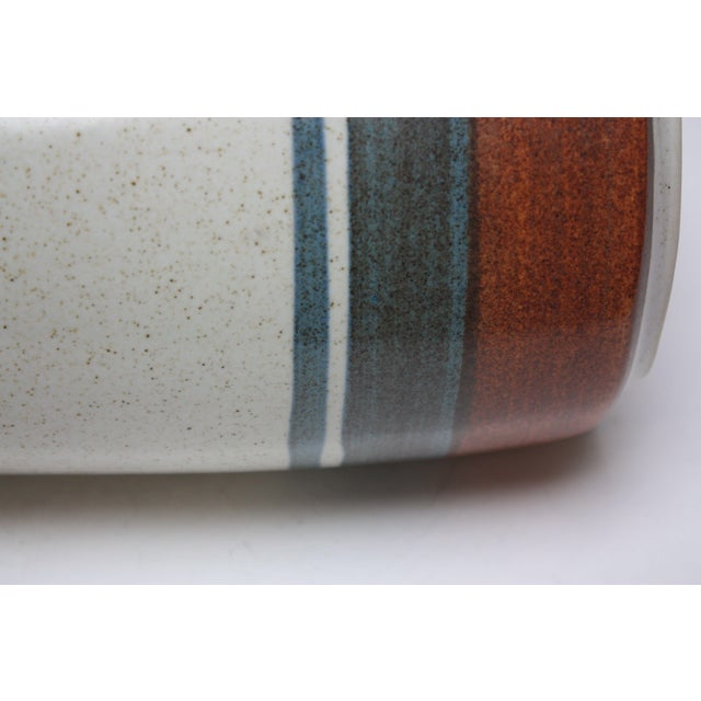 Mid Century Israeli Modern Large Stoneware Vase by Esther for Lapid For Sale In New York - Image 6 of 11