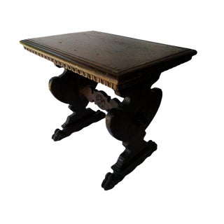 16th Century Elizabethan Walnut Joint Stool For Sale
