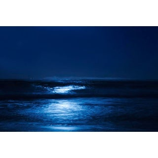 "Cheryl Maeder ""Blue Moonlight"" Archival Photographic Watercolor Print For Sale"