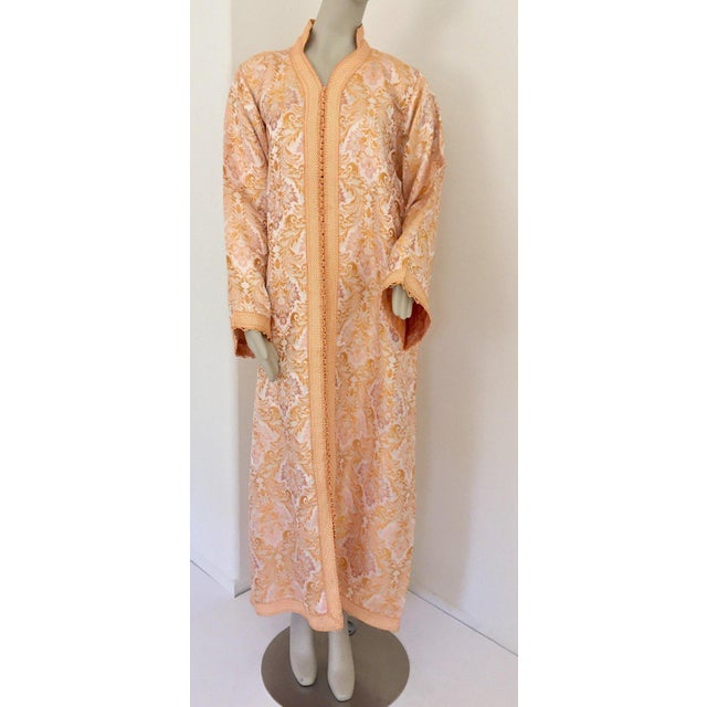 Moroccan Caftan in Gold Brocade For Sale - Image 13 of 13
