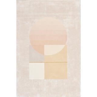 Schumacher Patterson Flynn Martin Infinity Hand-Tufted Wool Silk Geometric Rug - 6' X 9'