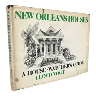 """New Orleans Houses"" 1985 First Edition Art Book"