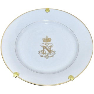 Sèvres Plates From the Service of Napoleon III For Sale