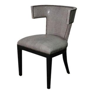 1970s Vintage Klismos Desk Chair For Sale