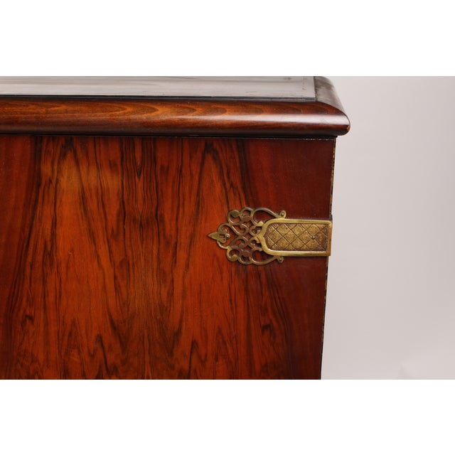 1930s French Deco Vitrine Cabinet - Image 4 of 7