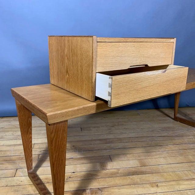 1960s Oak Hall Table by Kai Kristiansen for Aksel Kjersgaard, Denmark 1960s For Sale - Image 5 of 10