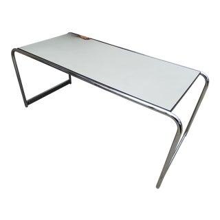 1960s Mid-Century Modern Marcel Breuer Chrome Desk For Sale