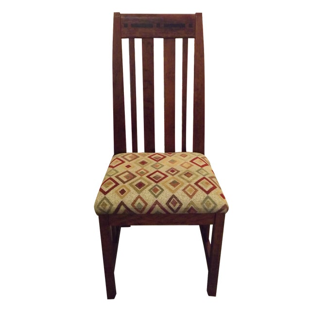Prairie Aspen Cherry Dining Chair - Image 1 of 3