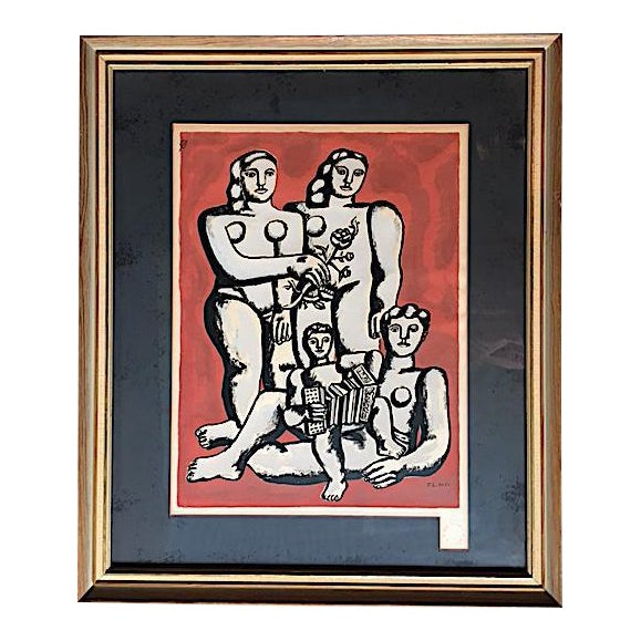 'The Three Sisters on Red' Seriograph For Sale