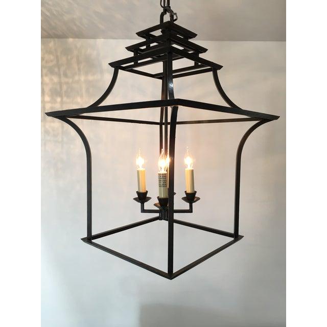 E.F. Chapman for Visual Comfort Brighton Pagoda Lantern Pendant - Image 6 of 8