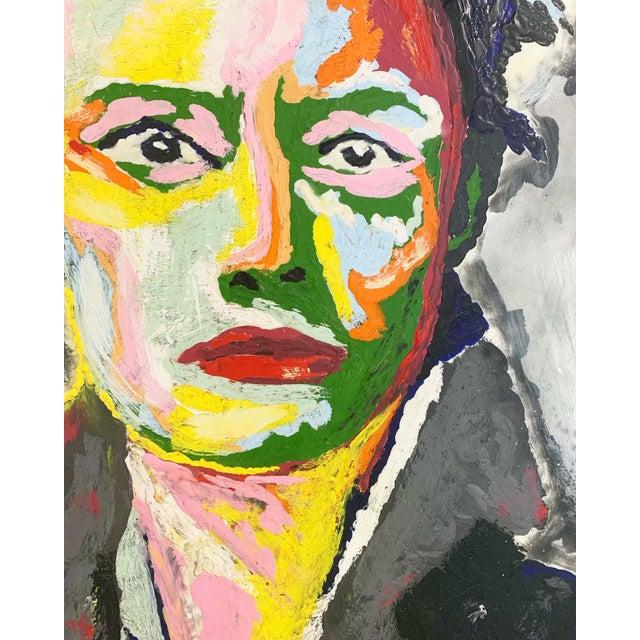 Encaustic John O'Hara. Av. Encaustic Painting. For Sale - Image 7 of 10