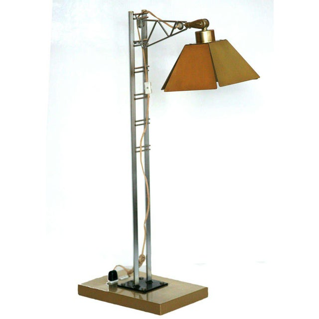 "Contemporary Curtis Jere ""Jacob's Ladder"" Table Lamp For Sale - Image 3 of 8"