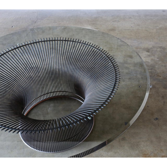 1960s Vintage Warren Platner for Knoll Bronze Coffee Table For Sale In Los Angeles - Image 6 of 12