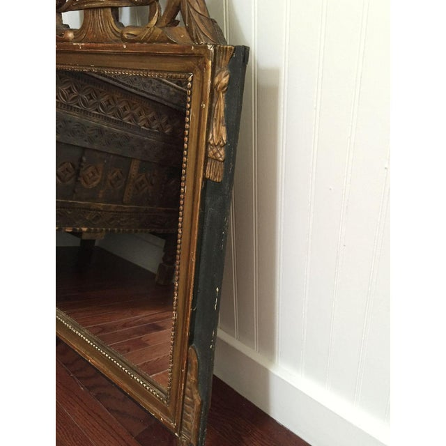 Vintage French Neoclassical Gold Mirror - Image 5 of 6