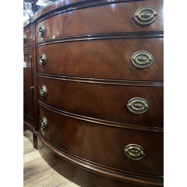 Drexel Mahogany Georgian Side Cabinet Buffet Console Sideboard Chest Server. Among the discernible collectors and people...