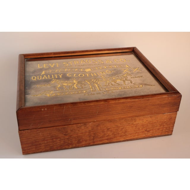 Americana Levi Strauss & Co. Centennial Box For Sale - Image 3 of 11