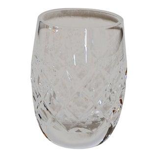 Vintage Alana Comeragh Waterford Crystal Old Mark Plain Bottom Shot Glass For Sale