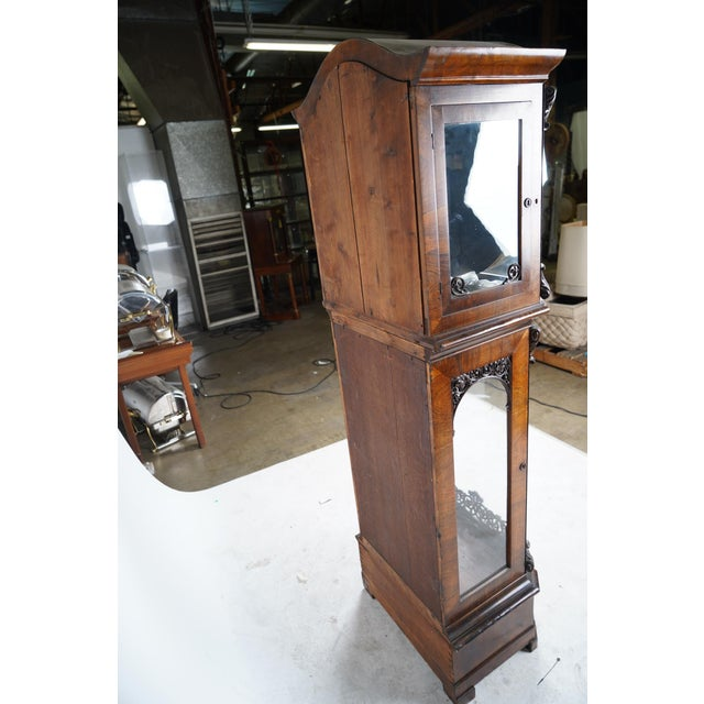 Baroque 19th Century Austrian Baroque Style Tall Case Clock with Open Escapement For Sale - Image 3 of 9
