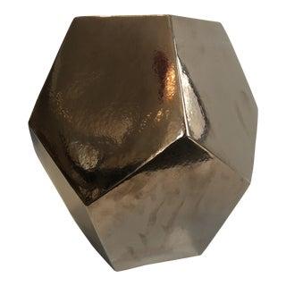 Modern Made Goods Geometric Stool For Sale