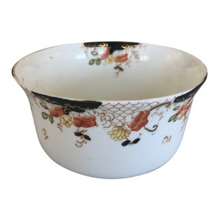 Delphine Crown China Black and White Bowl For Sale