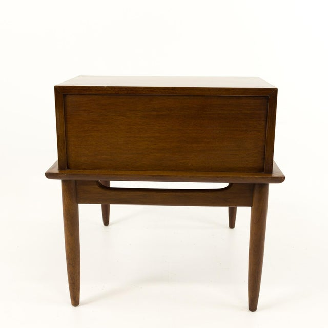 Mid Century Modern Merton Gershun for American of Martinsville Nightstand For Sale - Image 9 of 10