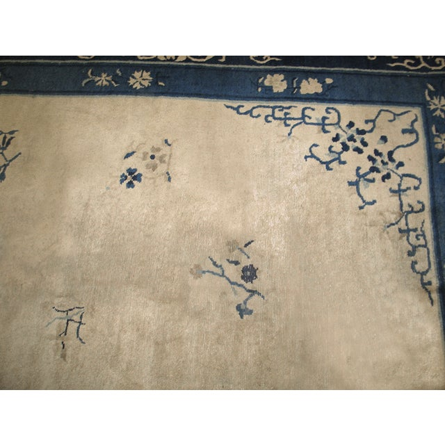 "Chinese Antique Chinese Peking Rug 10'2"" X 13'2"" For Sale - Image 3 of 7"