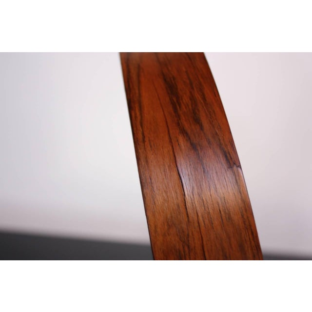 Swedish Rosewood Table Mirror by Uno and Östen Kristiansson for Luxus - Image 5 of 9