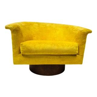 Mid Century Modern Craft Associates for Lane Barrel Back Tub Swivel Chair For Sale